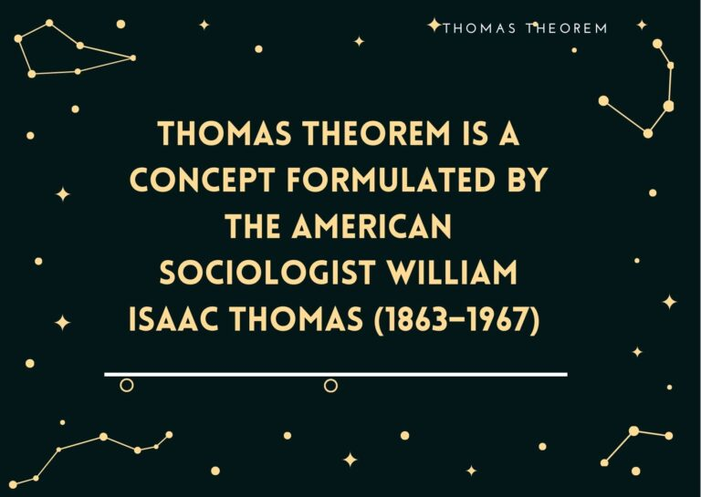 Thomas Theorem – Definition and Examples