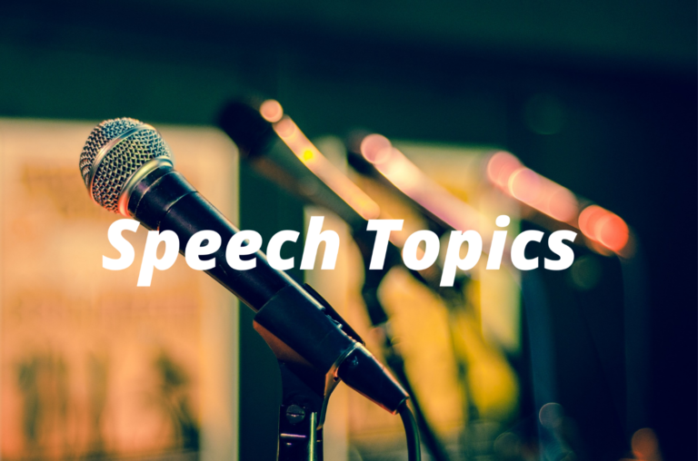 Top 150 Special Occasion Speech Topics and Ideas