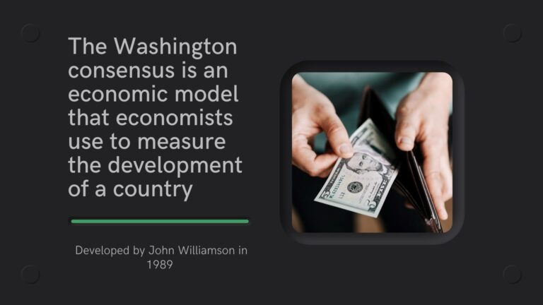 Washington Consensus- What it is, Examples & Criminology Use
