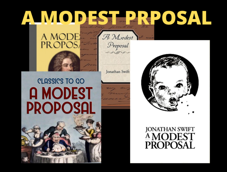 A Modest Proposal by J. Swift-What it is, Purpose, & Message