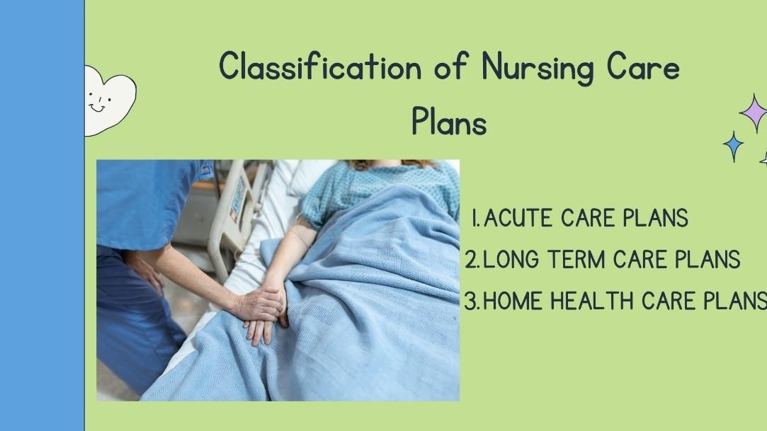 Classification-of-nursing-care-plans