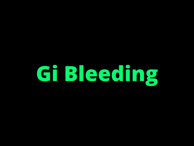 Nursing Diagnosis, Care Plan, and Interventions for GI Bleeding-A Student's Guide